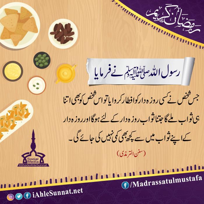 Iftar Ki Fazilat